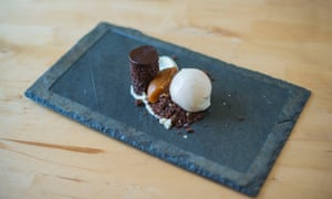 'A seriously strong dessert': chocolate delice.