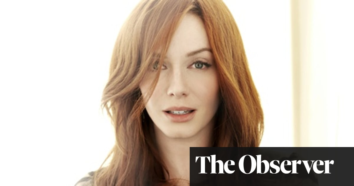 Christina Hendricks My Agency Dropped Me When I First Agreed To Play Joan In Mad Men God S Pocket The Guardian