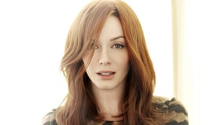 'Ultimate woman since Eve': Christina Hendricks.