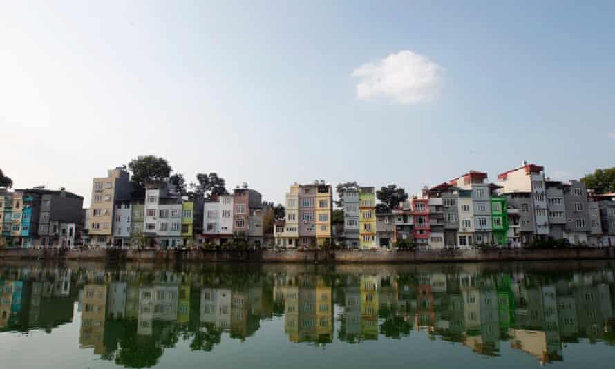 Residential houses in Hanoi