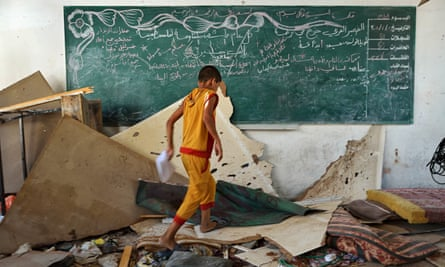 Israel - Gaza conflict, Gaza, Palestinian Territories - 30 Jul 2014