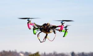 Small remote-controlled drone