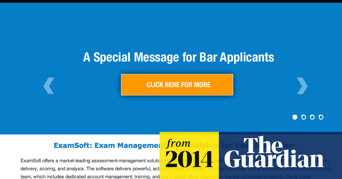 Bar exam software problem forces states to extend deadlines