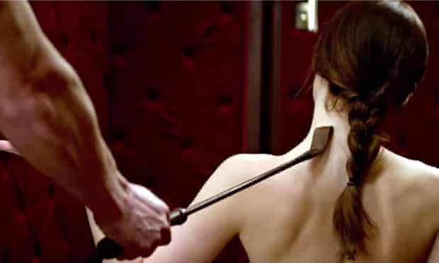 Screengrab from Fifty Shades of Grey film