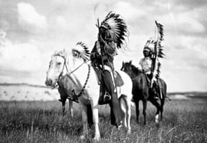 Sioux Chiefs by Edward S. Curtis