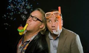 Comedy duo Vic Reeves and Bob Mortimer