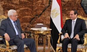Mahmoud Abbas, Abdel-Fattah el-Sissi