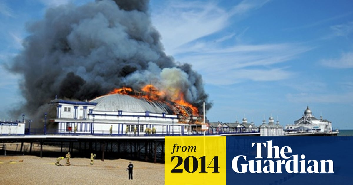 Future Of 144 Year Old Eastbourne Pier In Doubt After Major Fire Piers The Guardian