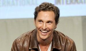 Matthew McConaughey, set for The Billionaire's Vinegar.