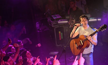 Jamie T at The Kazimier club In Liverpool