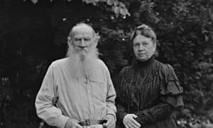 Leo Tolstoy and His Wife