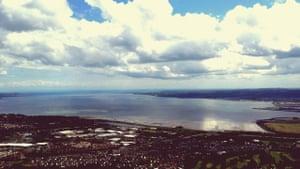 'View from Cavehill, Belfast.'