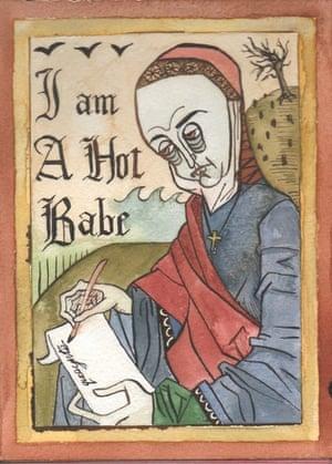 Medieval Pin-up