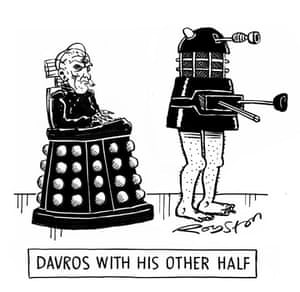 Davros with His Other Half