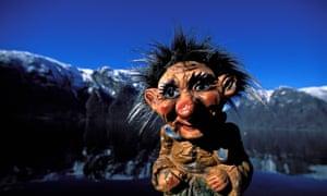 Sognefjord Norwegian troll