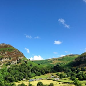 'North Wales looking glorious.'