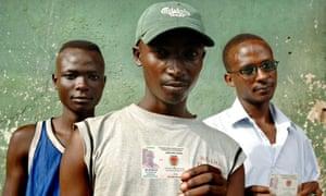 Former child soldiers in Burundi