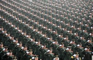 20 photos: Paramilitary policemen take pledge in China