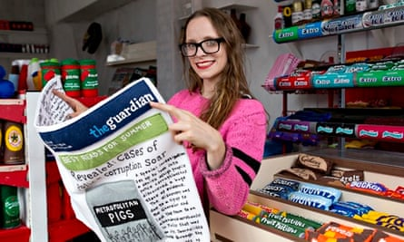 All Stitched Up: Artist Creates Corner Shop Made Entirely From Felt