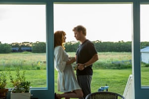 Heaven is For Real, starring Greg Kinnear as Todd and Kelly Reilly as Sonja.