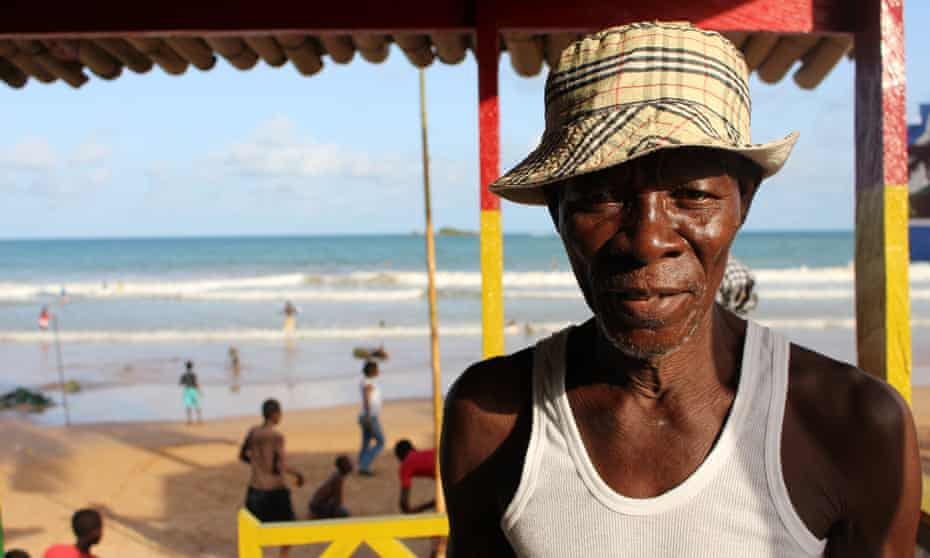 Kofi Stephen Yankey has seen Busua develop from a quiet fishing village into the heart of the country's surf scene.