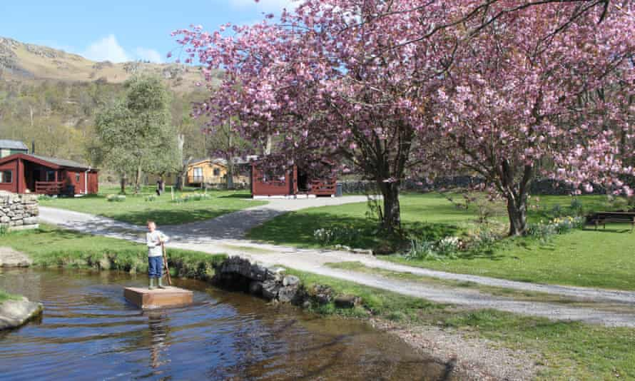 Fisherground campsite, Eskdale, Lake District