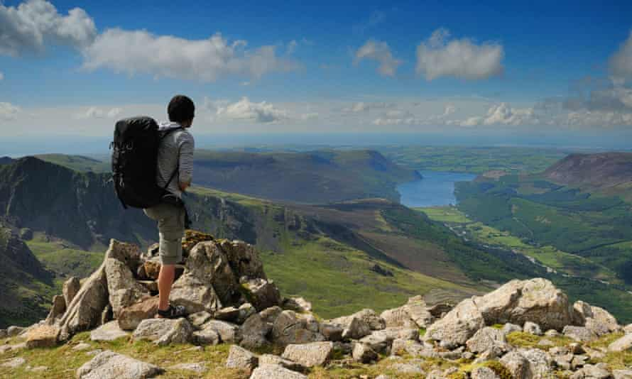 Looking from the Pillar towards Ennerdale.