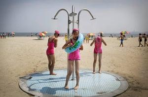 20 photos: North Korean girls at Children's camp