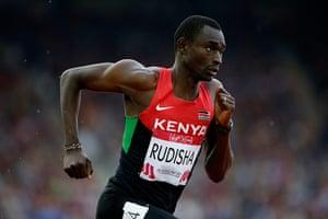 Athletics at Ibrox: David Rudisha