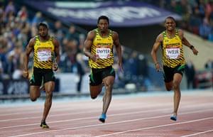 Athletics at Ibrox: Jamaican 1-2-3