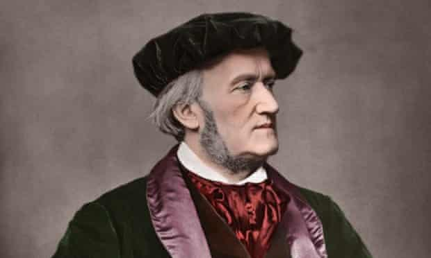 Richard Wagner (1813-1883) German composer. Portrait photo, 1871.