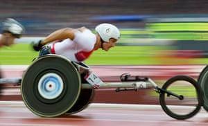 Athletics at Ibrox: David Weir