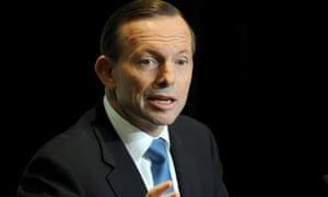 Tony Abbott delivers the keynote address to the Australian-Melbourne Institute