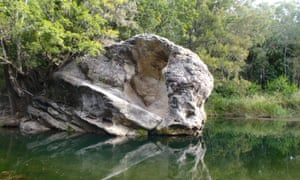 Rock pool at Carnarvon Gorge