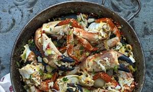 Fergus Henderson's devilled crab