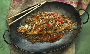 Fuchsia Dunlop's classic Sichuanese dry-braised fish