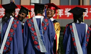 Chinese Graduates Face Fierce Job Competition