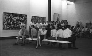 Pollocks, Large Group, 1959.