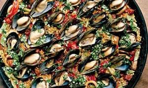 Simon Hopkinson's paella
