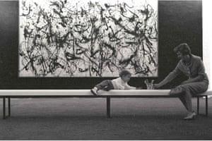 Pollock, Bench Child, 1959.