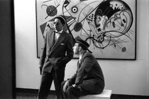Kandinsky 2 men, 1959.