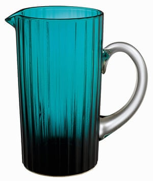 Outdoor eating: Etton glass jug, £10, habitat.co.uk