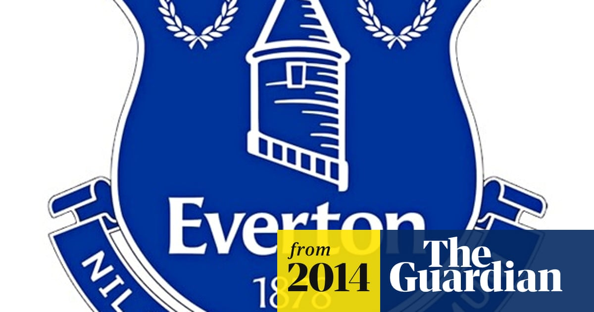 Everton Begin Using New Club Crest Chosen By Fans After Huge Backlash Everton The Guardian