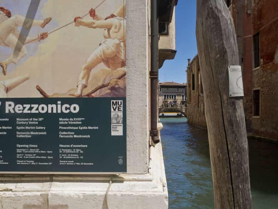 Ca' Rezzonico Palazzo art gallery