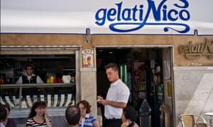Gelati Nico  - famous cafe and ice cream parlour