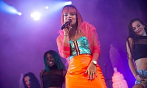 Lily Allen at the 21st Blues Passions of Cognac Festival in France this month.