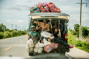 Your pictures: Naomi Roberts photo of Cambodian migrants