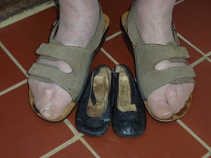 Your pictures: Karen McLeod's mother with her first ever pair of shoes