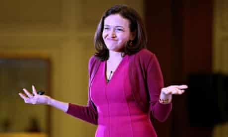 Facebook COO Sheryl Sandberg in India