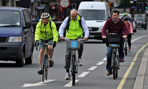Barclays bikes in London